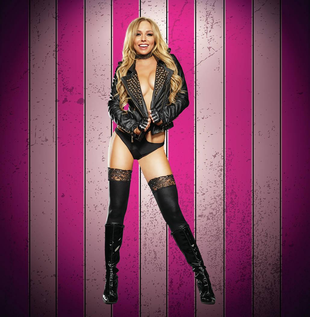 "Whitney of ""X Burlesque"" at The Flamingo in Las Vegas. (Maryanne Bilham)"