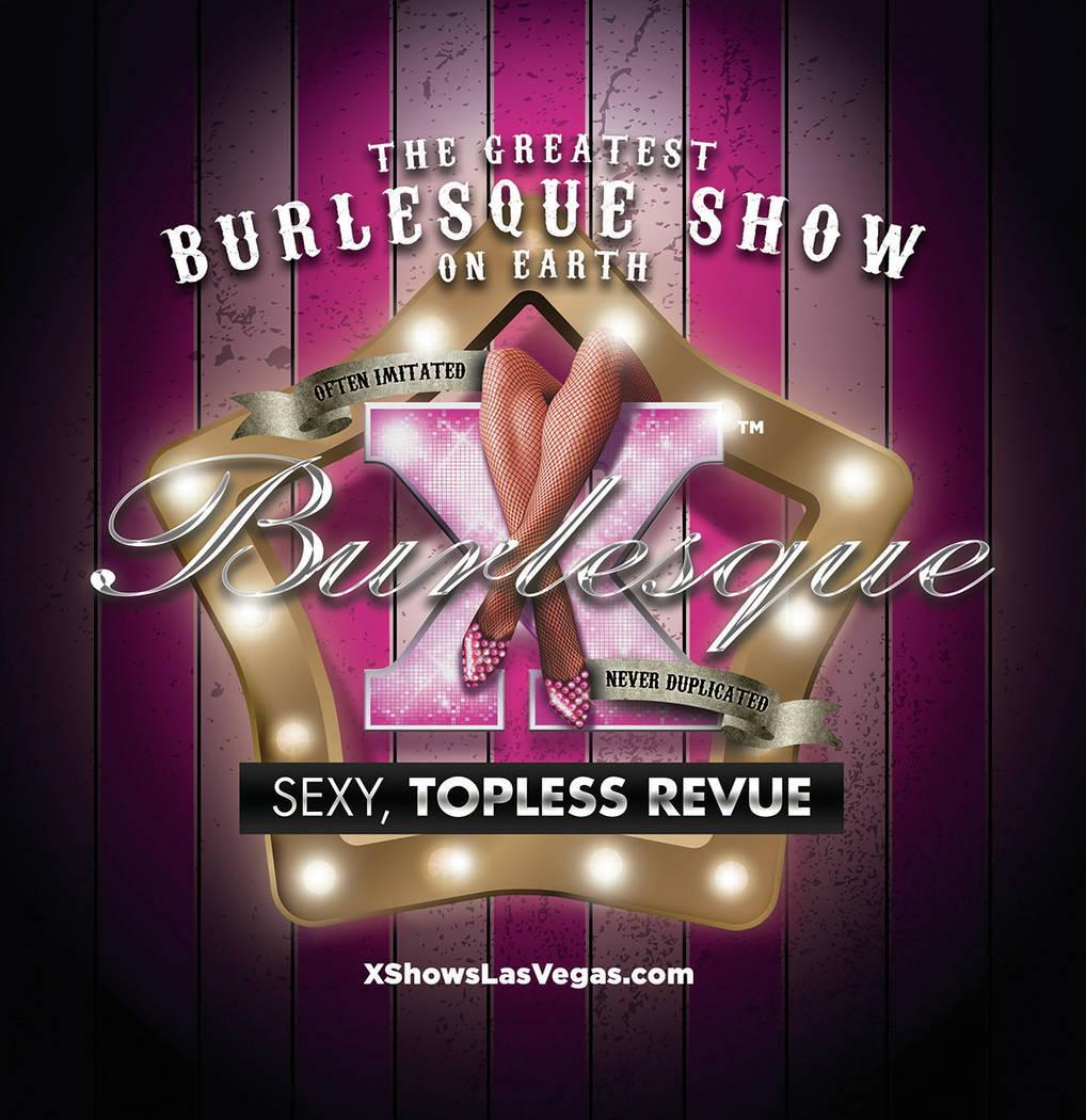 """""""X Burlesque"""" at The Flamingo in Las Vegas. (Maryanne Bilham)"""