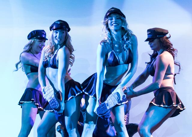 """X Burlesque"" at The Flamingo on Wednesday, Nov. 30, 2016, in Las Vegas. (Miranda Alam/Las Vegas Review-Journal)"