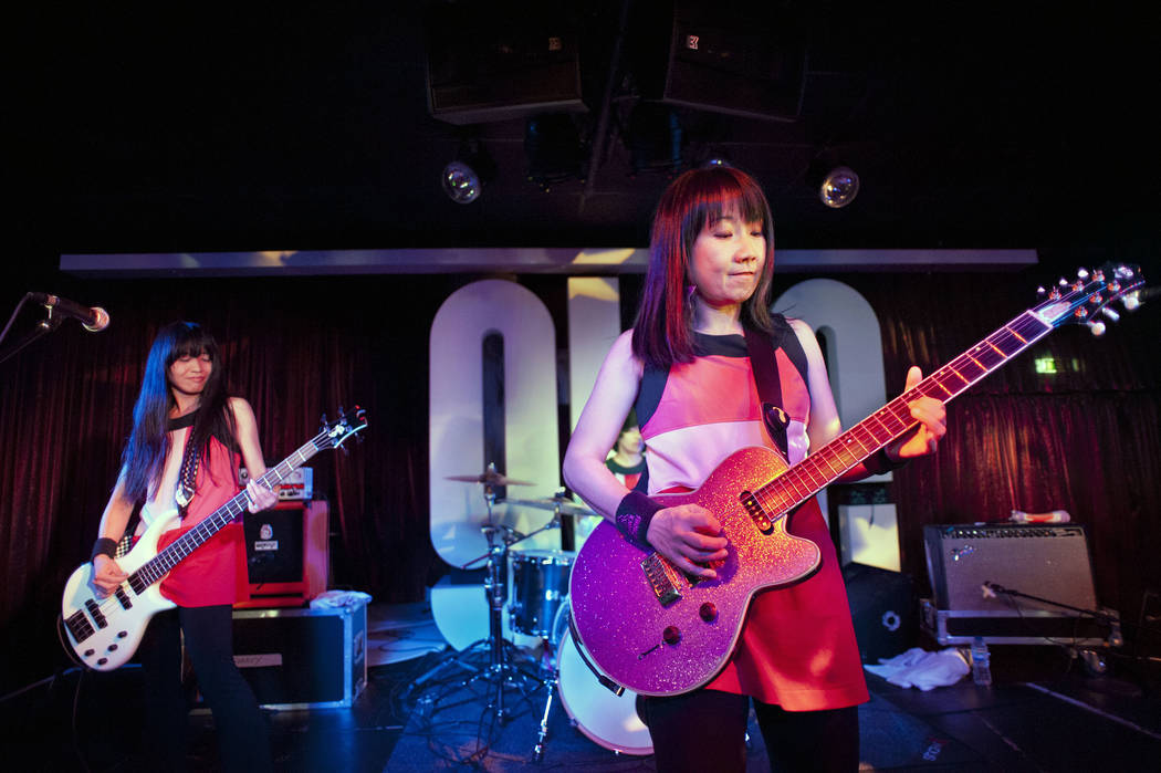 Shonen Knife in concert at the Glee Club, Birmingham - Ritsuko Taneda and Naoko Yamano Various AP Images