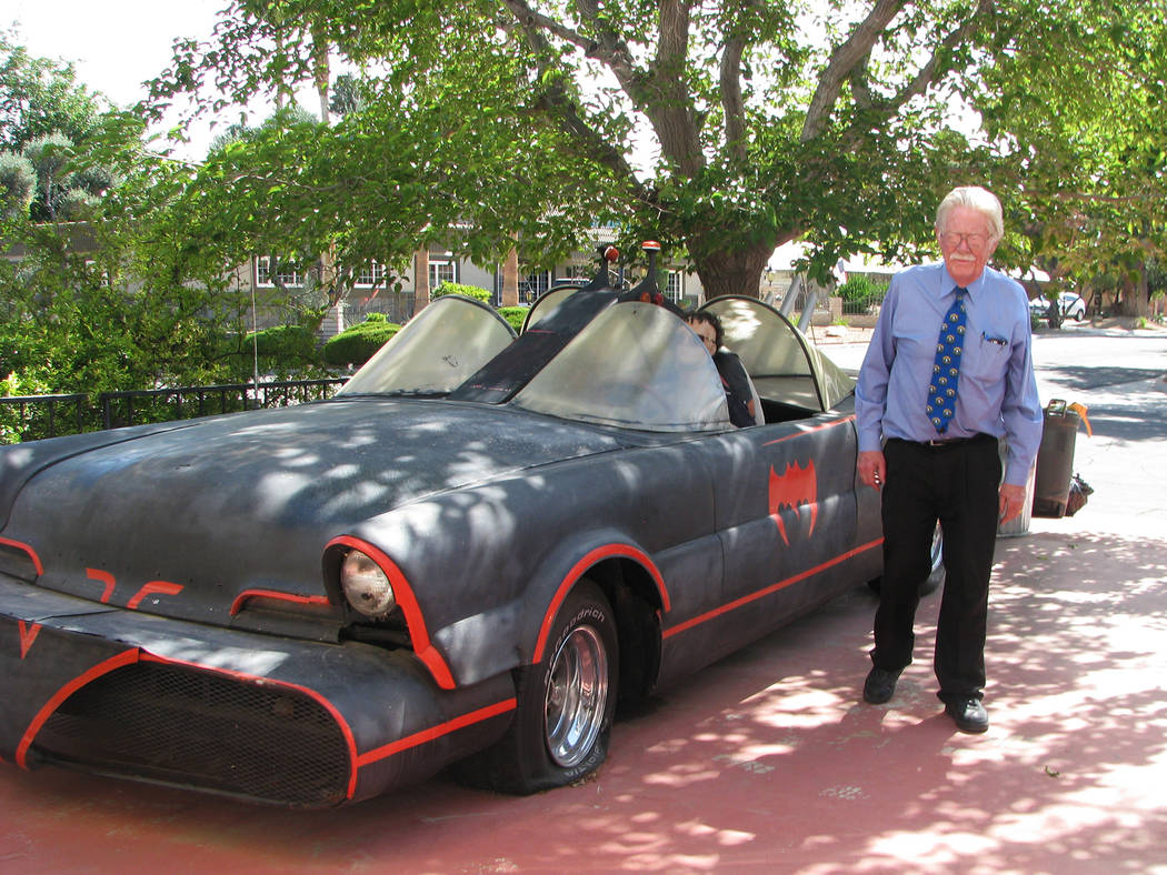 His Batmobile is going to be safely stored in a friend's garage but Lonnie Hammargren is losing the home he lived in since 1971 to foreclosure. He added many unusual features including a pl ...