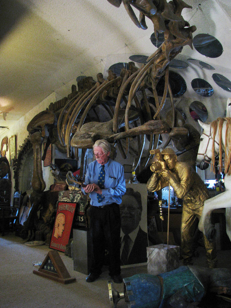 Lonnie Hammargren is losing the original home he moved into in 1971, that later became part of a three home complex and museum of oddities, to foreclosure. Many of the odd items may not be able to ...