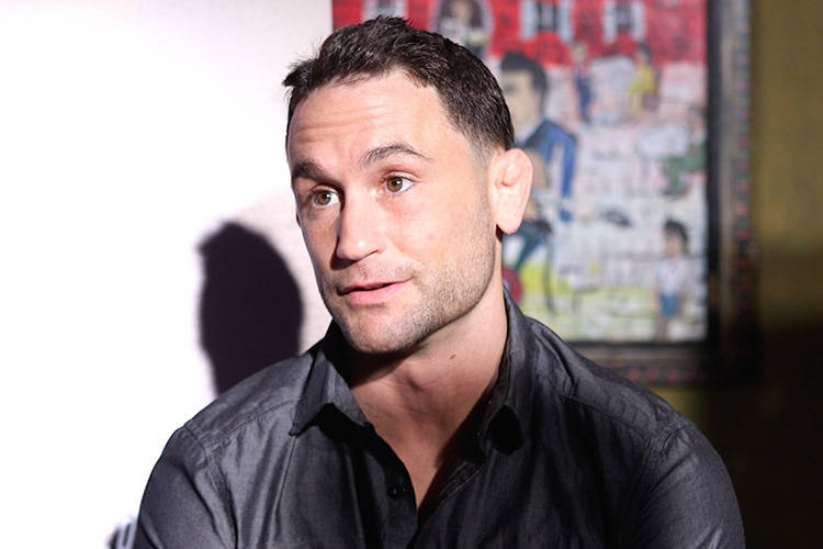 Frankie Edgar thinks Yair Rodriguez's fighting style is like a double-edged sword. The former lightweight champion also talks about what his strengths in this fight are. (Heidi Fang/Las Vegas Revi ...