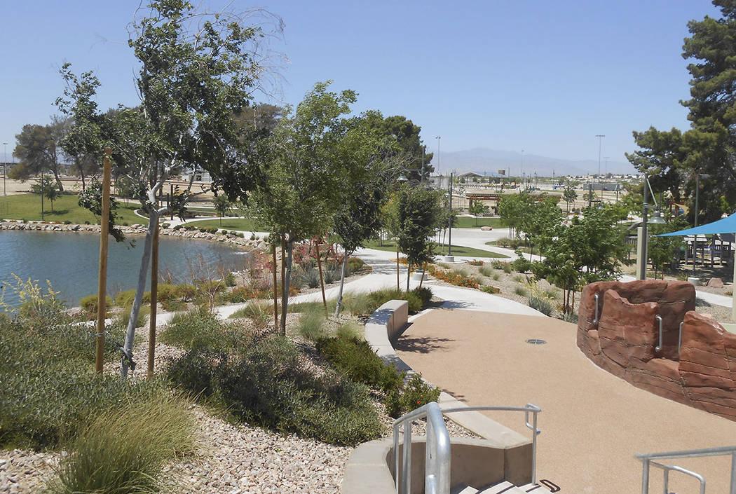 Craig Ranch Regional Park in North Las Vegas (Las Vegas Review-Journal)