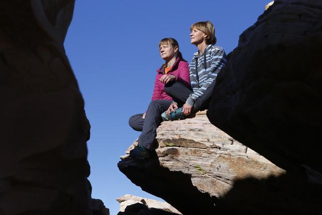 Gold Butte National Monument on Tuesday, Jan. 17, 2017. (Christian K. Lee/Las Vegas Review-Journal) @chrisklee_jpeg