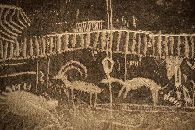Rock art is seen Wednesday, May 20,2014 in the White River Narrows area, about 130 miles north of Las Vegas.  Jeff Scheid/Las Vegas Review-Journal) Follow Jeff Scheid on Twitter @jlscheid