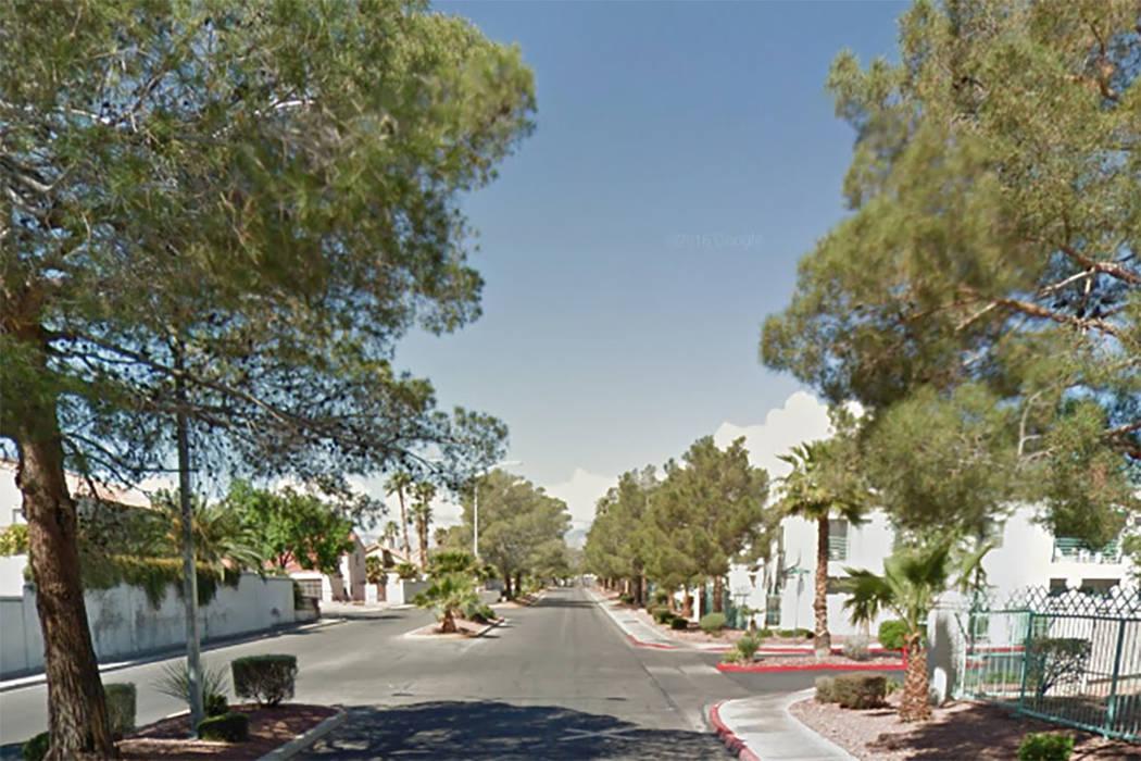 7100 block of West Pirates Cove Road, Las Vegas (Google maps)