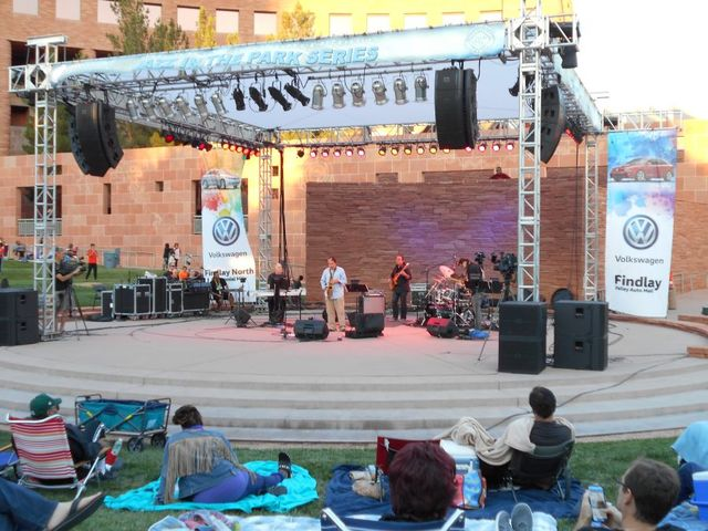 Jazz in the Park Series at the Clark County Amphitheater. Courtesy