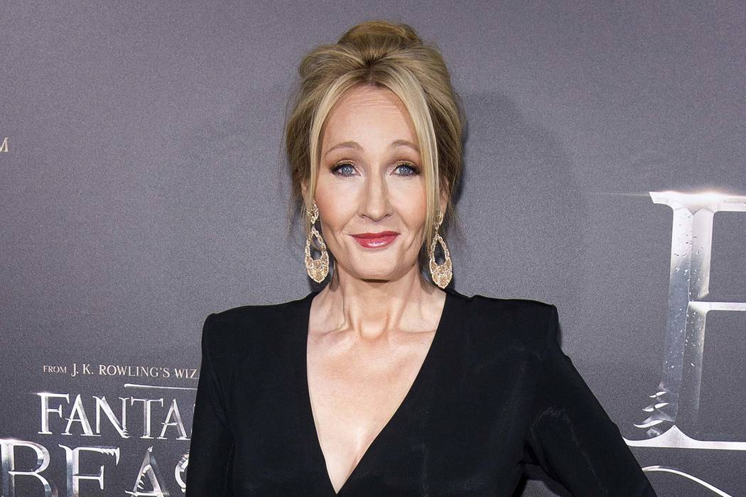 J.K. Rowling is urging Harry Potter fans not to buy a handwritten prequel to the boy wizard's adventures that was stolen during a burglary in England. (Charles Sykes/Invision/AP, File)