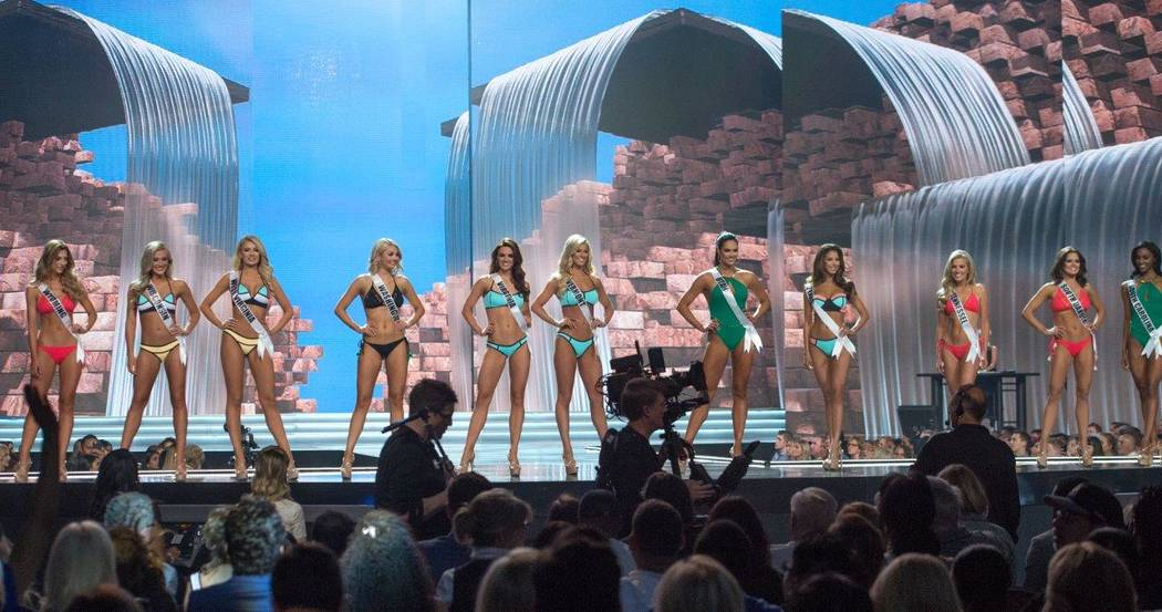 Preliminary competition for The 2017 Miss USA Pageant at Mandalay Bay Events Center on Thursday, May 11, 2017, in Las Vegas. (Tom Donoghue)