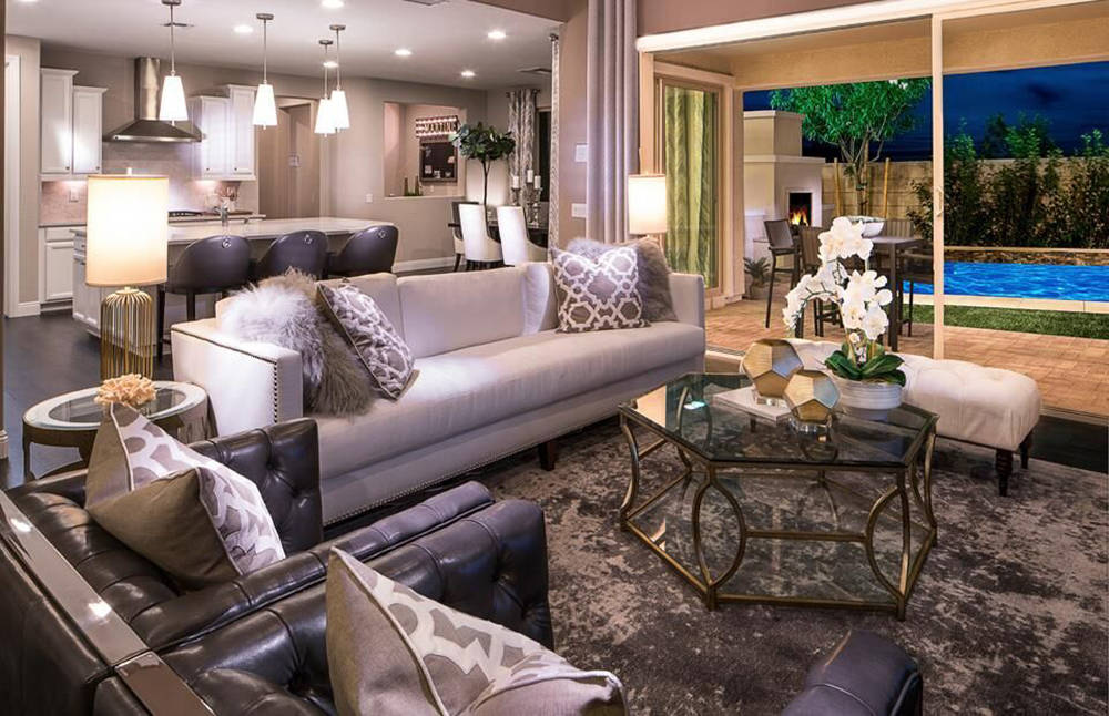 Skye Canyon's neighborhoods include Evergreen by Pulte Homes