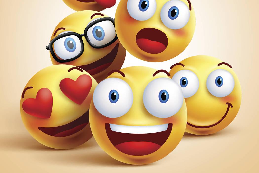 Emoticon characters. (Thinkstock)