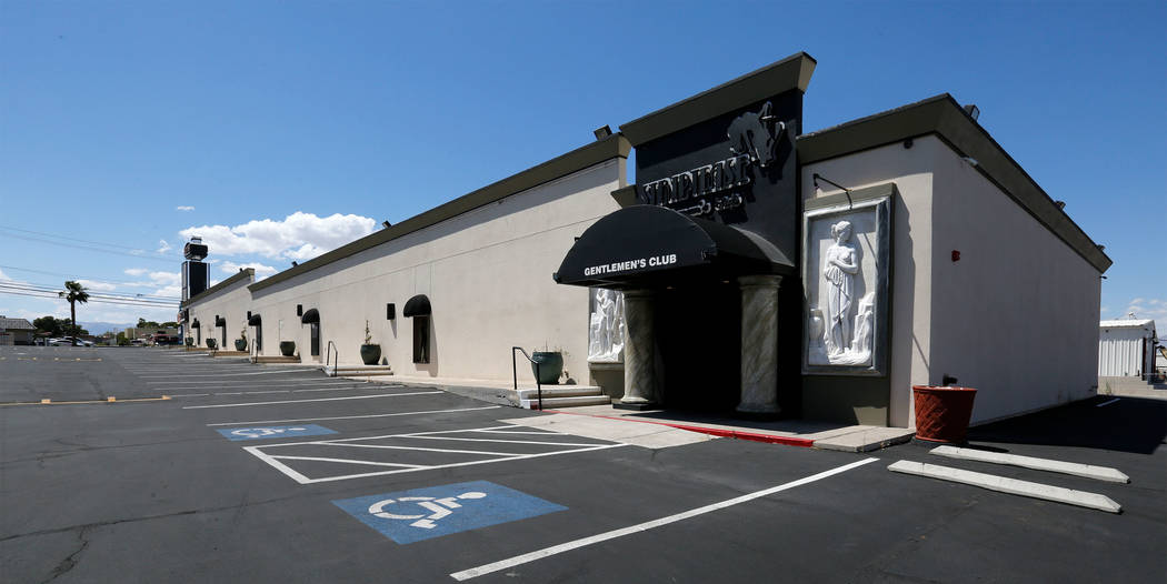 Legends Room will open in June at 3750 Valley View Blvd. in Las Vegas. (Chitose Suzuki/Las Vegas Review-Journal) @chitosephoto