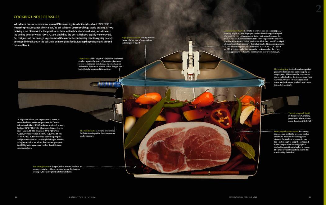 Pressure Cooker Cutaway  Tyson Stole Modernist Cuisine LLC