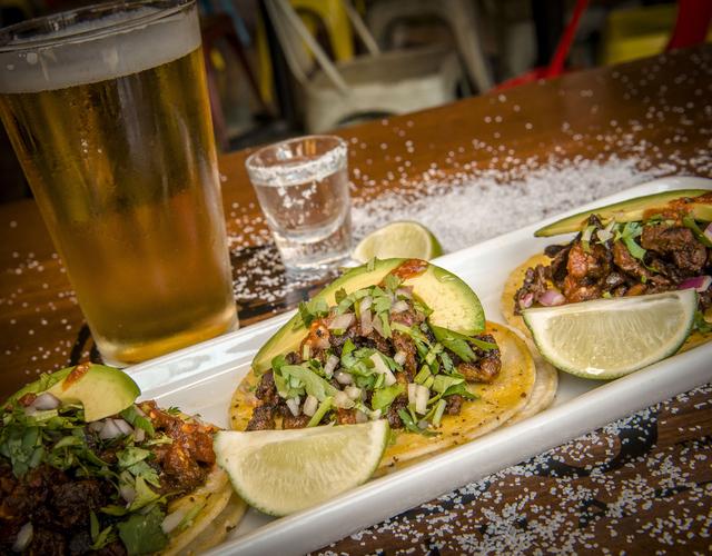 Cabo Wabo's carne asada tacos (photo by J. Rick Martin)