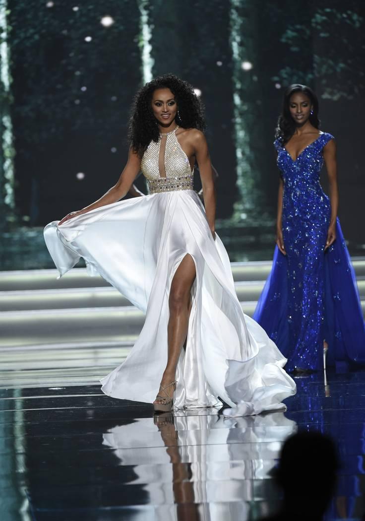 2017 Miss USA  – Las Vegas, Nevada, U.S., 14/05/2017 - Miss District of Columbia Kara McCullough. REUTERS/David Becker