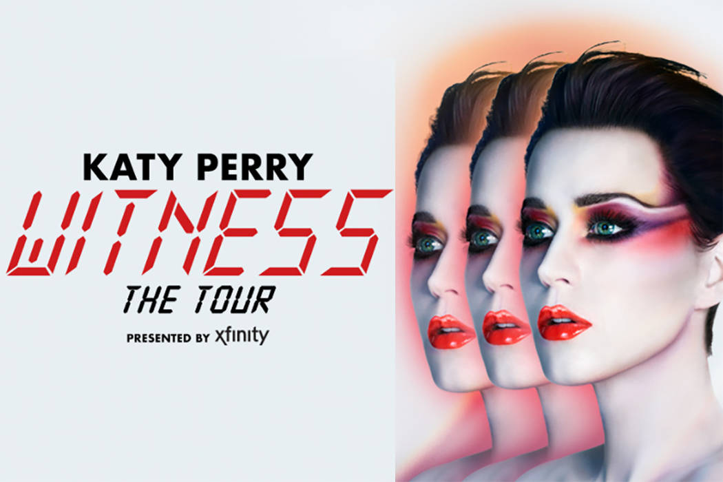 Katy Perry's Witness Tour (Facebook)