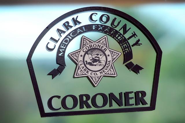 Clark County Coroner's Office is seen on Friday, Oct. 17, 2014. (David Becker/Las Vegas Review-Journal)