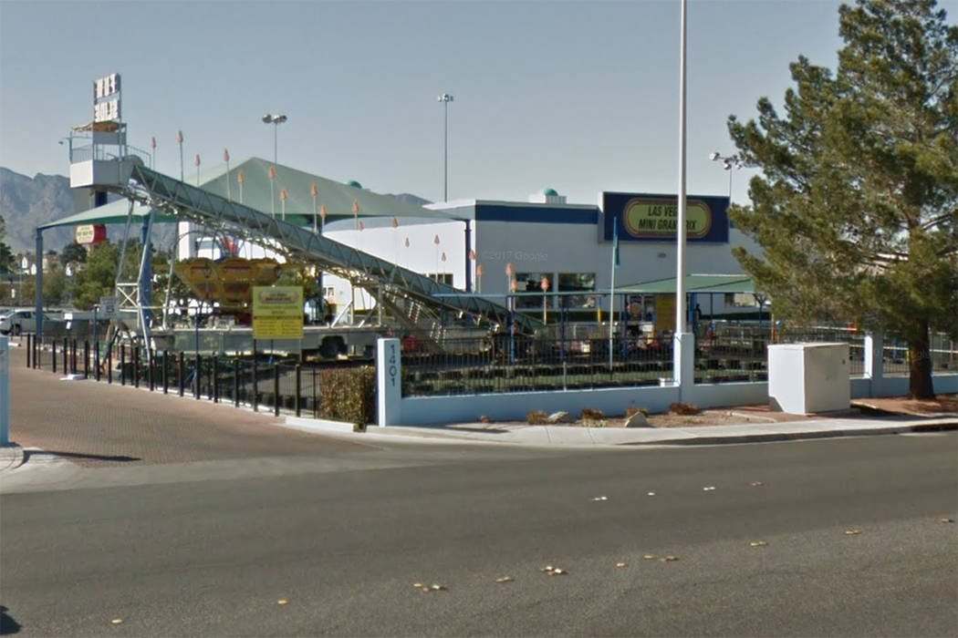 Las Vegas Mini Gran Prix at 1401 N. Rainbow Blvd. in shown in this screenshot. (Google)
