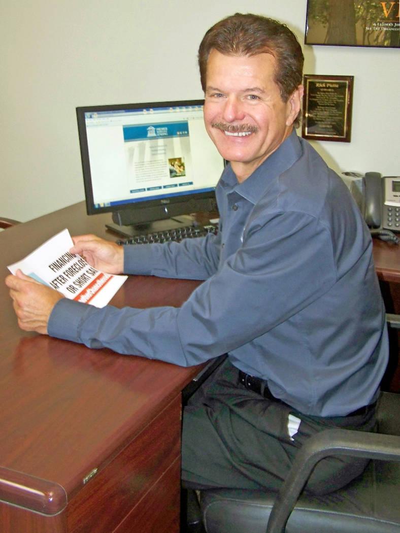 Rick Piette, owner of Premier Mortgage Lending (Premier)