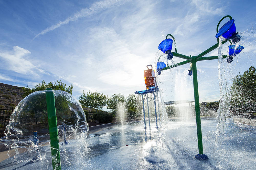 With a variety of water trees, buckets, cannons and more, the splash parks in Southern Highlands offer hot-weather fun for children of all ages. (Southern Highlands)