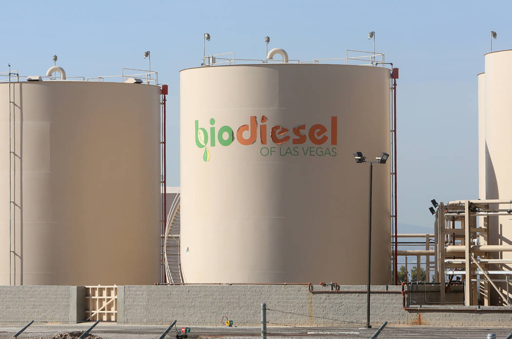 The former Bio Diesel Las Vegas facility on 5233 E El Campo Grande Ave., on Wednesday, May 17, 2017. Bizuayehu Tesfaye Las Vegas Review-Journal @bizutesfaye