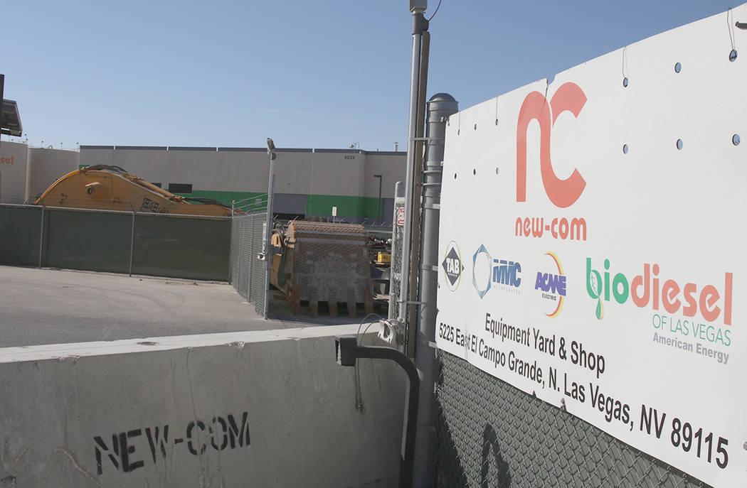 The former Bio Diesel Las Vegas facility on 5233 E El Campo Grande Ave. on Wednesday, May 17, 2017. Bizuayehu Tesfaye Las Vegas Review-Journal @bizutesfaye