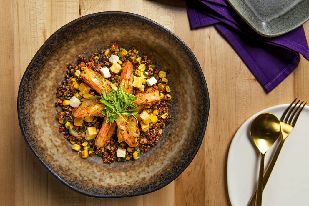 Shrimp & Quinoa Cazuela Anthony Mair