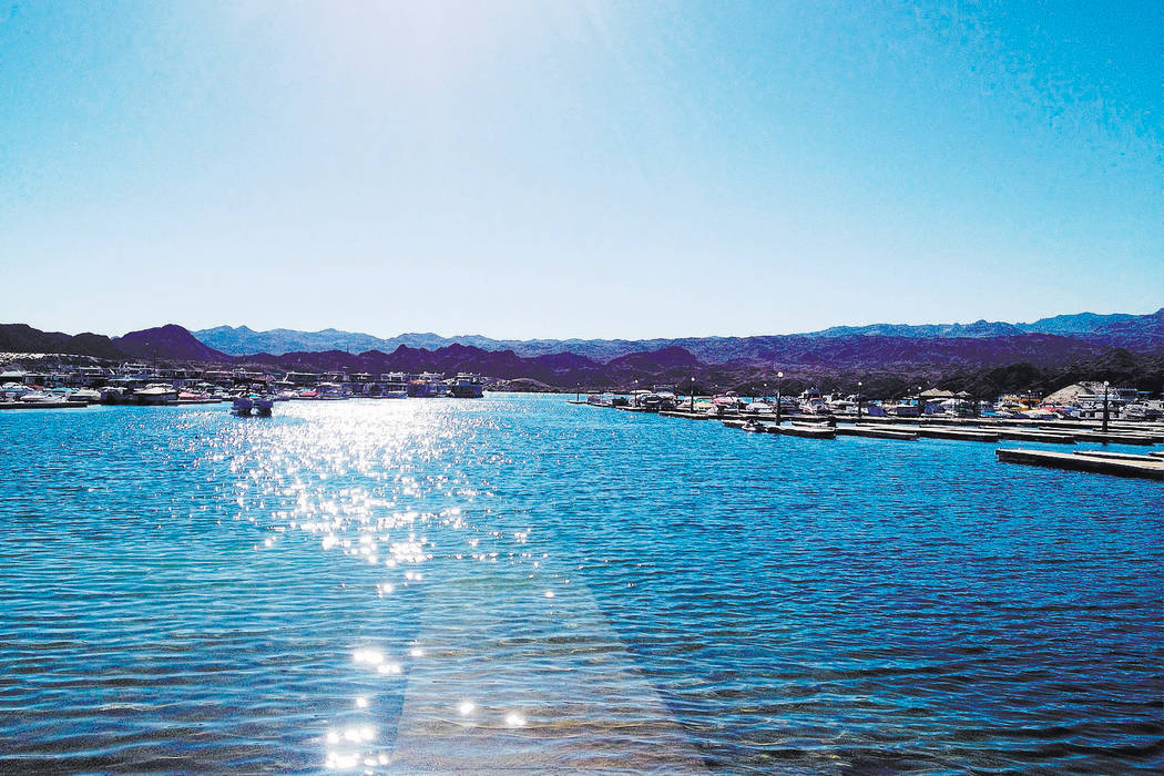 Katherine's Landing is one of the recreation area's most popular destinations. (Boulder City Review)