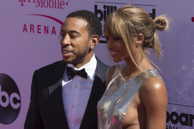 Hosts Ludacris and Ciara arrive on the red carpet before The Billboard Music Awards at T-Mobile Arena on Sunday, May 22, 2016, in Las Vegas. (Jason Ogulnik/Las Vegas Review-Journal)