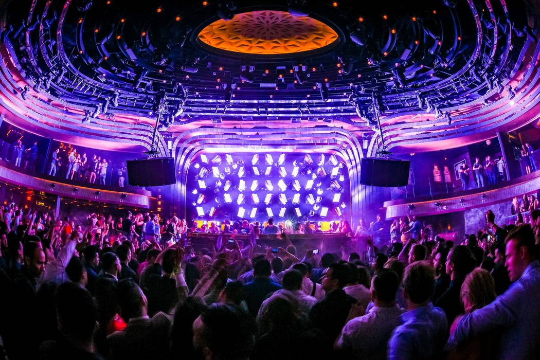 Oliver Heldens spins at Jewel at Aria on Friday, June 17, 2016, in Las Vegas. (Al Powers/Powers Imagery)