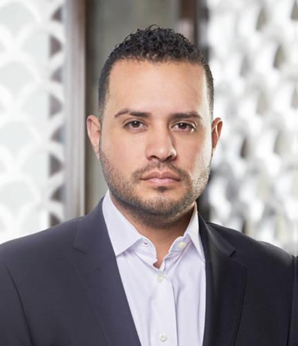 Robert Gamch, executive director of VIP marketing at Hakkasan Group.
