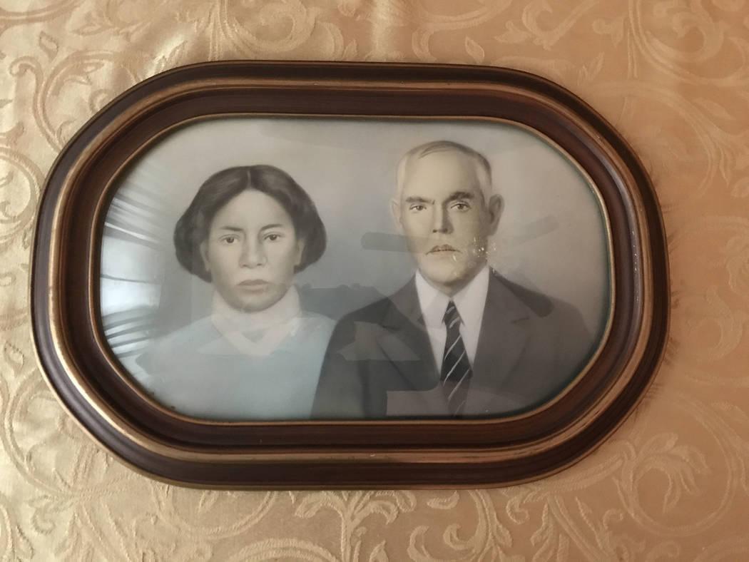"""Vernice Gaar's grandparents, Sara """"Sallie"""" Gaar and Alex Gaar. Keith Rogers Las Vegas Review-Journal"""