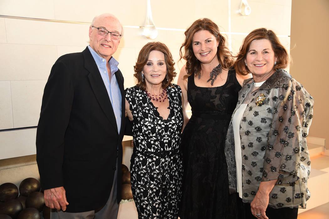 From left, Jeffrey Blau, Diana Bennett, Elizabeth Blau and Lynn Blau (Al Powers)