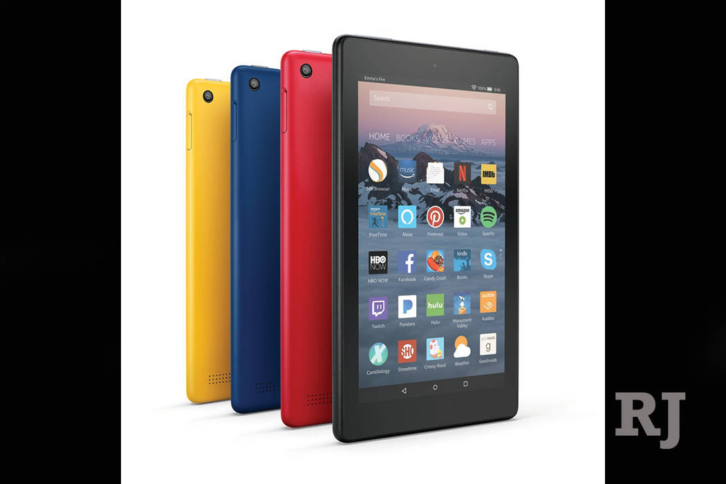 The company also announced a new version of the 7-inch Fire tablet, which will keep its $50 price tag. (Courtesy of Amazon)