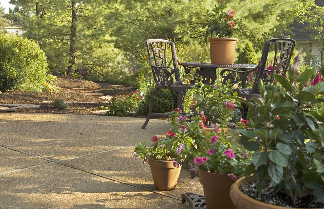 Thinkstock Container gardening has become popular in Southern Nevada because of the difficult soil and climate.