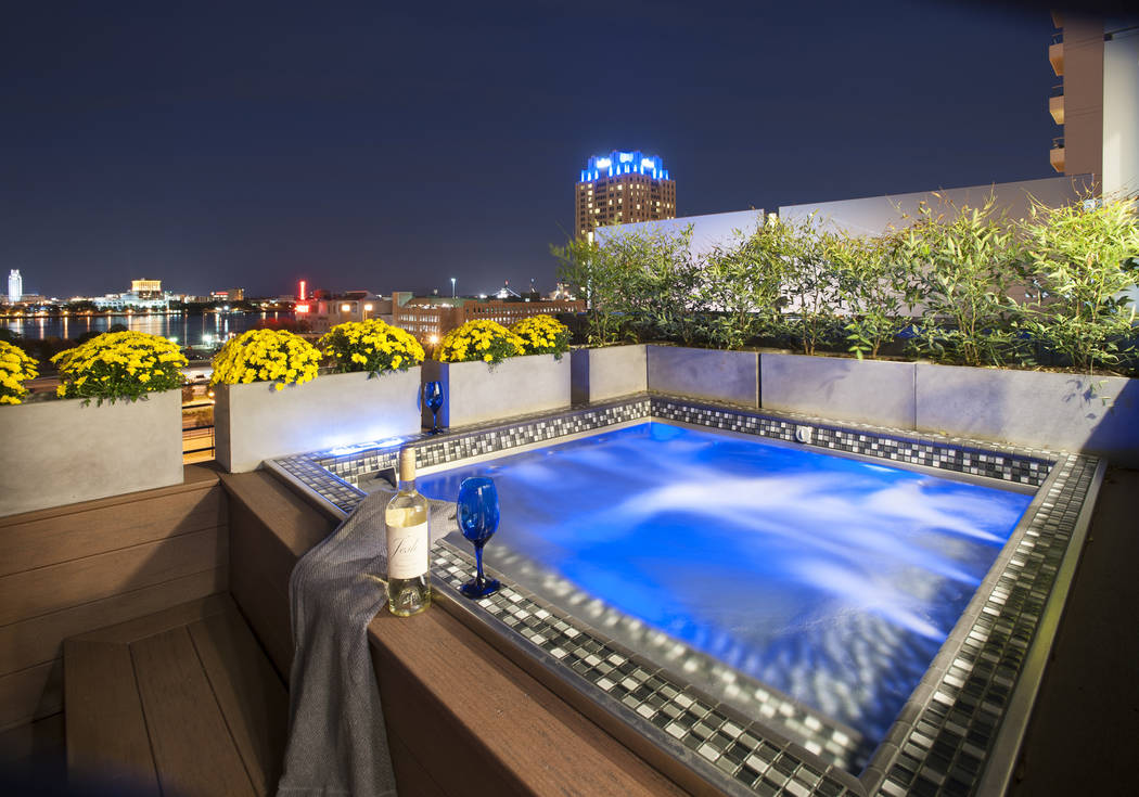 Pool solution for elevated installations las vegas for Rooftop pool design