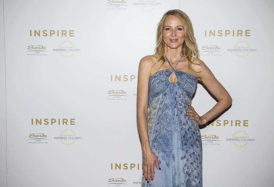 Singer-songwriter Jewel on the red carpet before a a charity concert event presented by Sands Cares at the Palazzo on Friday, May 19, 2017. Patrick Connolly Las Vegas Review-Journal @PConnPie