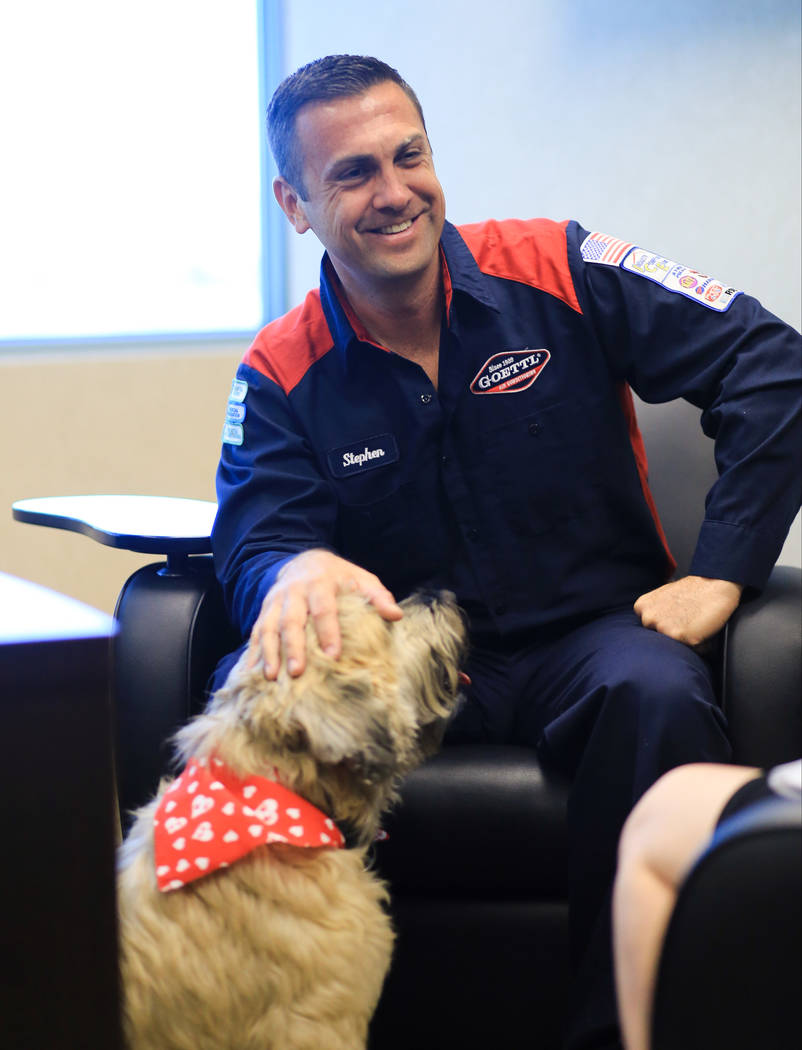 Sadie The Dog Decides Who Works For This Las Vegas