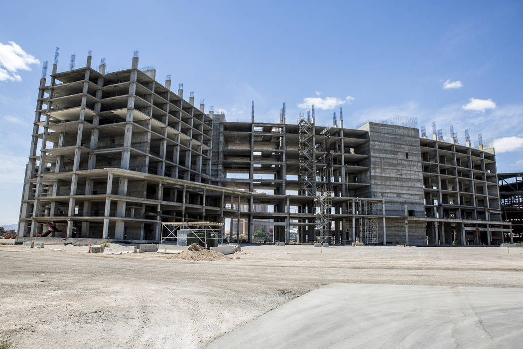 The Resorts World construction site on the Las Vegas Strip as seen on Wednesday, May 17, 2017. Patrick Connolly Las Vegas Review-Journal @PConnPie