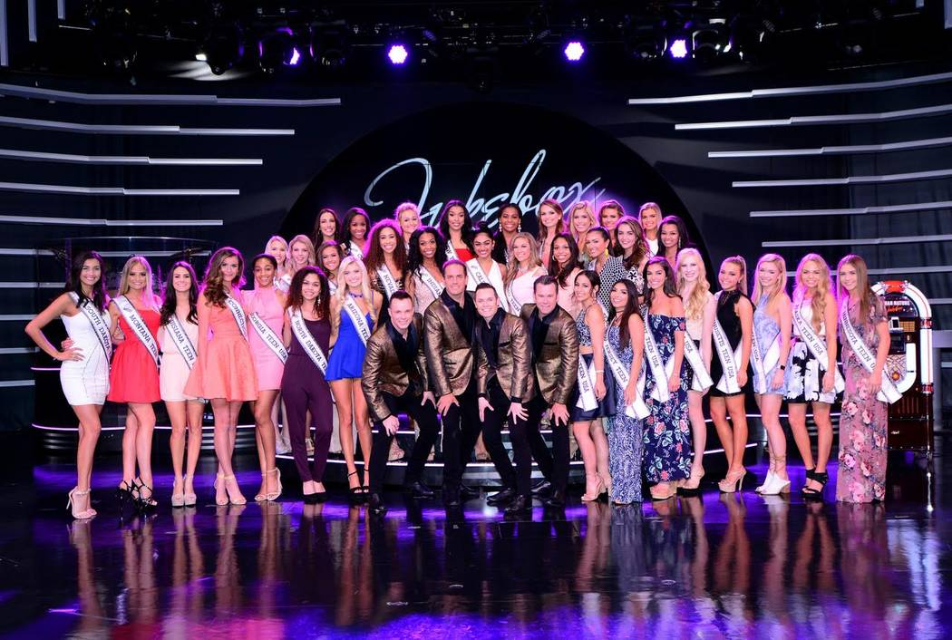 2017 Miss Teen USA Pageant contestants attend Human Nature at The Venetian on Saturday, May 13, 2017, in Las Vegas. (Petra Jezkova/Cashman Photo)