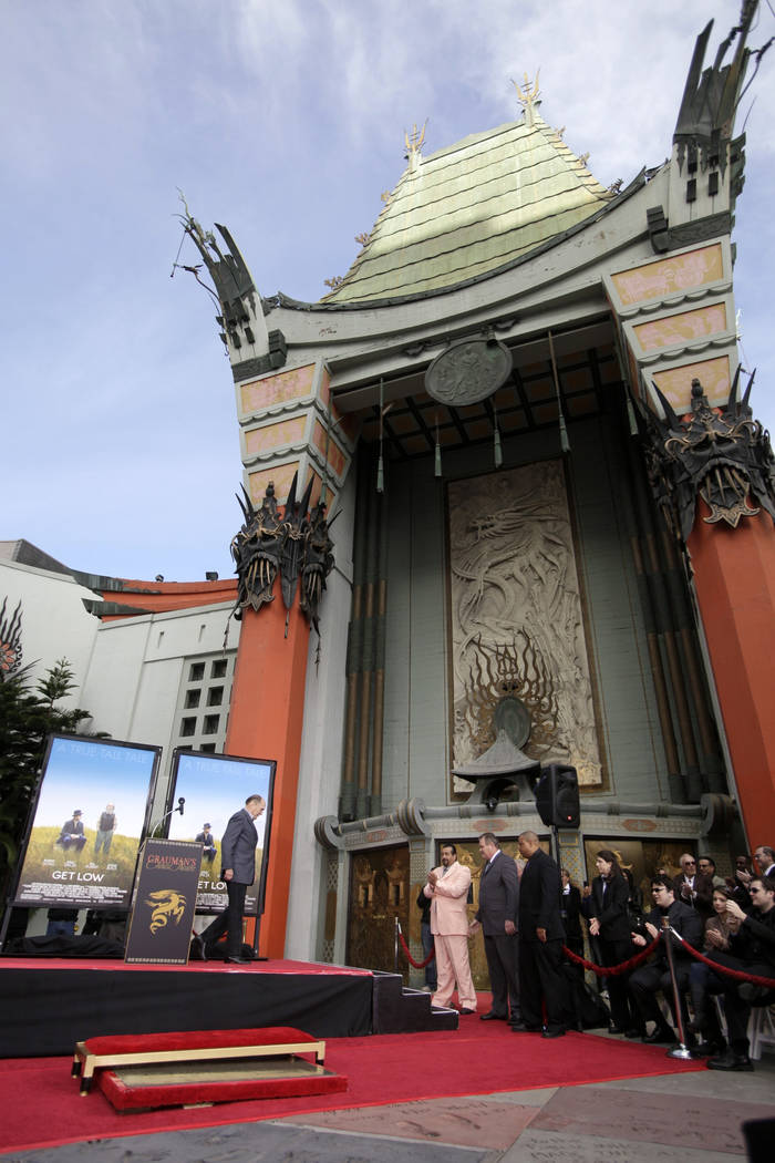 Oscar-winning actor Robert Duvall appears at a ceremony in front of Grauman's Chinese Theater in Los Angeles, marking both his 80th birthday and his 50 years in the film business on  Jan. 5, 2011. ...
