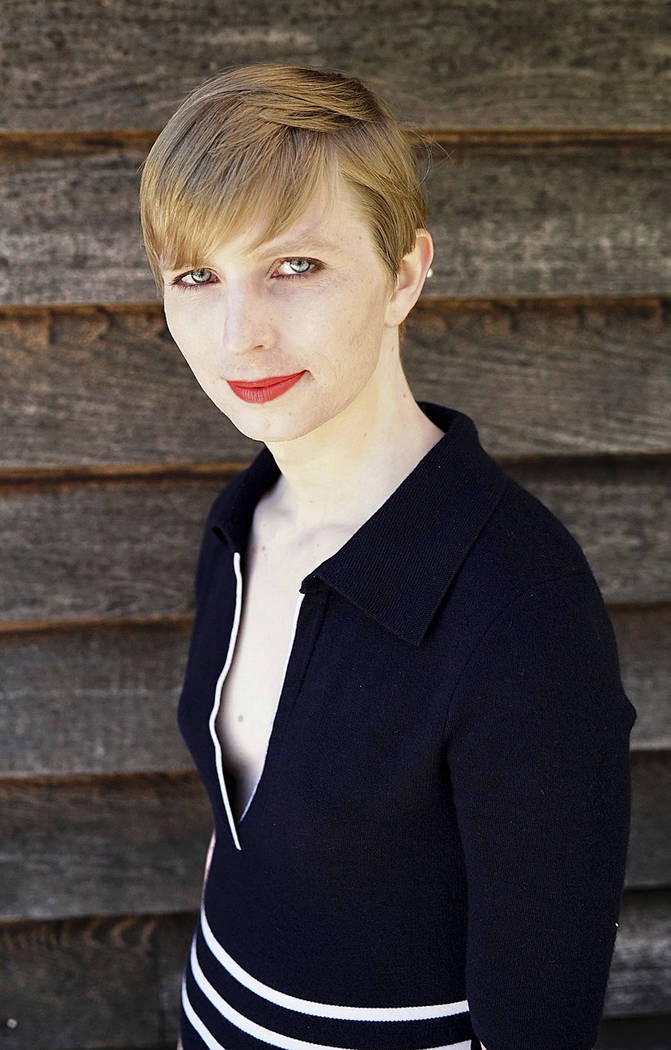 This undated photo provided by Army Pvt. Chelsea Manning shows a portrait of her that she posted on her Instagram account on Thursday, May 18, 2017. Manning, the transgender soldier formerly known ...