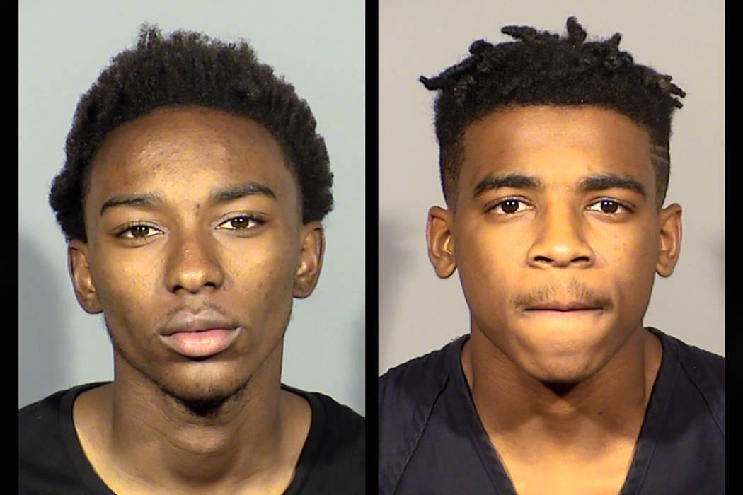 Theyron Paxton and William Bogan (Las Vegas Metropolitan Police Department)