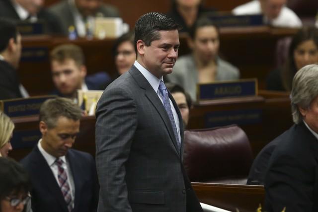 Assemblyman Steve Yeager, D-Las Vegas. (Chase Stevens/Las Vegas Review-Journal) @csstevensphoto