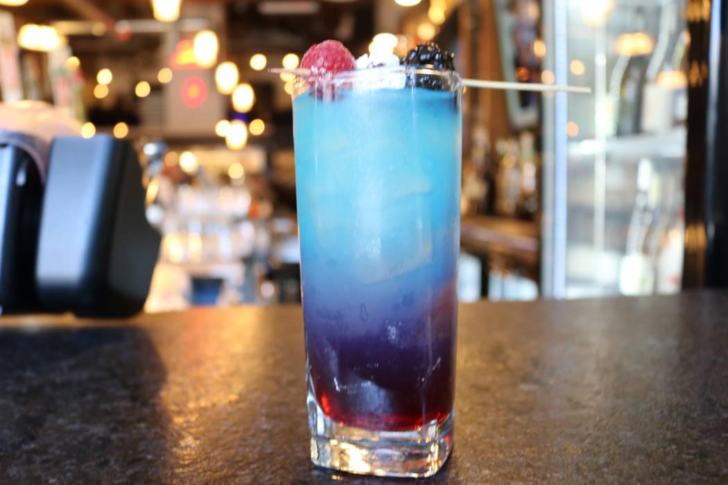 Star Spangled Lemonade cocktail. Janna Karel Las Vegas Review-Journal