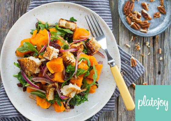 PlateJoy Panzanella Salad. PlateJoy
