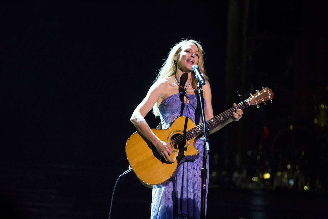 "Singer-songwriter Jewel performs her song ""Hands"" at a charity concert event presented by Sands Cares at the Palazzo on Friday, May 19, 2017. Patrick Connolly Las Vegas Review-Jo ..."