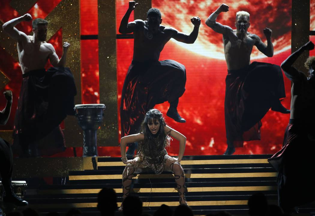 2017 Billboard Music Awards – Show - Las Vegas, Nevada, U.S., 21/05/2017 - Singer Camila Cabello performs. REUTERS/Mario Anzuoni
