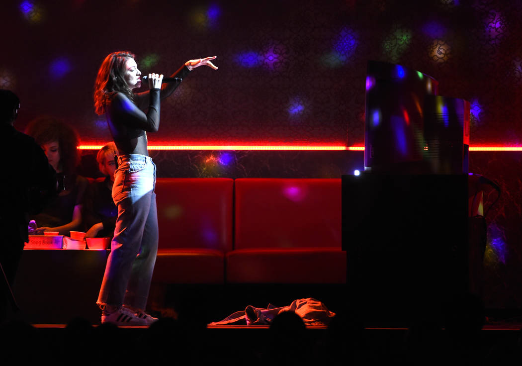 "Lorde performs ""Green Light"" at the Billboard Music Awards at the T-Mobile Arena on Sunday, May 21, 2017, in Las Vegas. (Photo by Chris Pizzello/Invision/AP)"